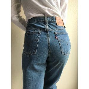 [vintage] Levis 512 high waist tapered jeans